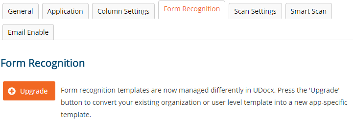Upgrade Your Existing Form Recognition Templates