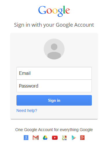 Authorize Google Drive